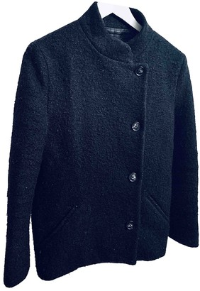 Acne Studios Black Wool Coat for Women