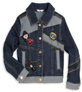 Little Marc Jacobs Toddler's, Little Girl's & Girl's Miss Marc Patch Jean Jacket