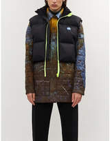 ADER ERROR Cropped shell-down gilet