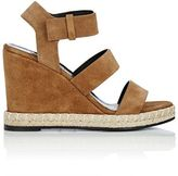 Balenciaga Women's Espadrille Platform Wedge Sandals-BROWN