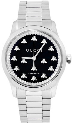 Gucci Silver G-Timeless 38mm Watch