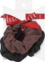 Elle Assorted Knit Ponytail Holder 2 Ct