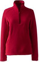 Classic Women's 100 Everyday Fleece Half-zip-Light Rich Red