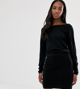 Asos Tall DESIGN Tall knit dress with pencil skirt and slouchy top