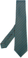 Kiton chain pattern tie - men - Silk - One Size