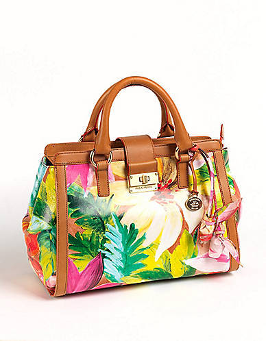 Brahmin Annabelle Rose Leather Tote