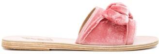 Ancient Greek Sandals Taygete Bow slidder sandals