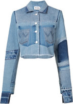 Misbhv frayed denim jacket