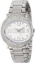 Just Cavalli Women's R7253186515 Lac Stainless Steel Dial Swarovski Crystal Watch