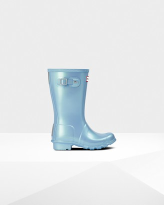 Hunter Original Big Kids Nebula Wellington Boots