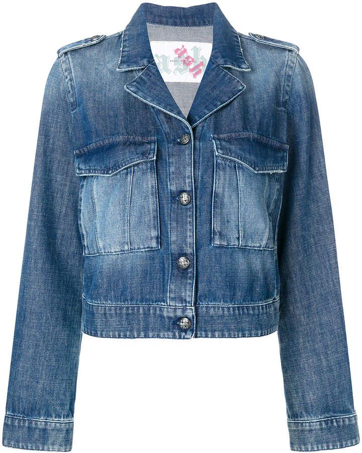 Ash printed denim jacket