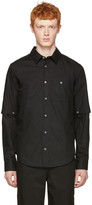Telfar Black Detachable Sleeve Shirt