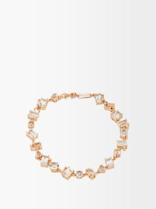 Suzanne Kalan Diamond, Topaz & 14kt Rose-gold Bracelet - Rose Gold