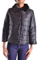 Armani Jeans Women's Black Polyester Down Jacket.