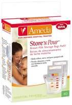 Ameda Store N Pour Milk Storage Bags - 50ct