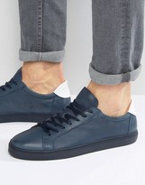 Selected Homme David Leather Trainers