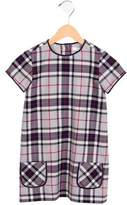 Brooks Brothers Girls' Wool Plaid Dress