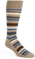 Nordstrom 'Cushion Foot' Stripe Socks (3 for $30)