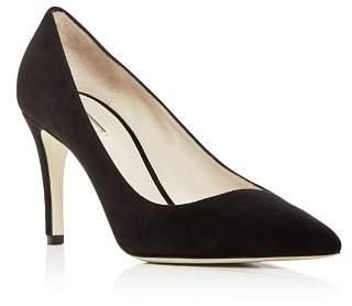 Giorgio Armani Women's Suede Pointed Toe Pumps