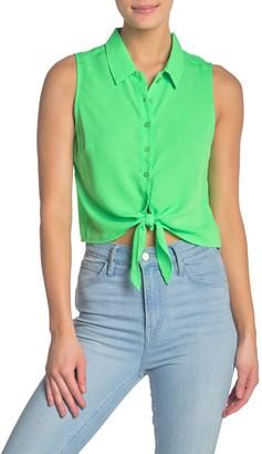 re:named apparel Annie Tie Top