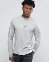 Criminal Damage Long Sleeve T-Shirt With Turtleneck