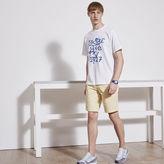 Lacoste L!ve Cotton Twill Taffeta Bermuda Shorts