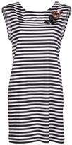 Sonia Rykiel Sonia By butterfly and stripe dress