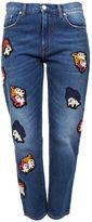 MSGM Mid-blue Wash Jeans