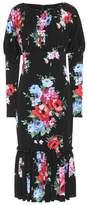 Dolce & Gabbana Floral-printed silk dress