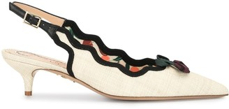 Charlotte Olympia Bow-Detail 50mm Pumps