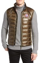 Canada Goose Men's 'Hybridge(TM) Lite' Slim Fit Packable Quilted 800-Fill Down Vest
