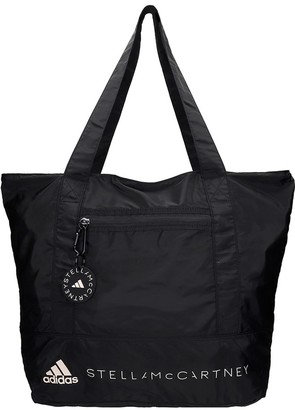 adidas by Stella McCartney Medium Tote Tote In Black Tech/synthetic