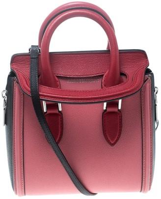 Alexander McQueen Heroine Multicolour Leather Handbags