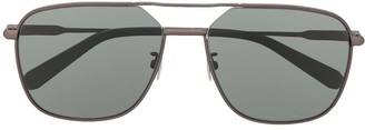 Brioni Double Nose Bridge Sunglasses