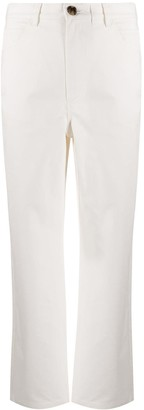 Mara Hoffman Cropped Organic Cotton Trousers