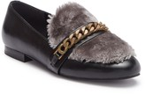 Kenneth Cole New York Wilda Faux Fur Leather Loafer