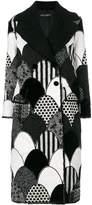 Dolce & Gabbana patchwork coat