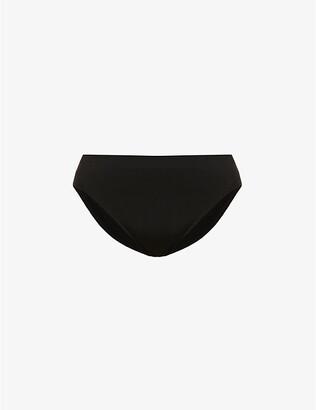 Wacoal Women's Black B-Smooth Jersey Hi-Cut Briefs, Size: L