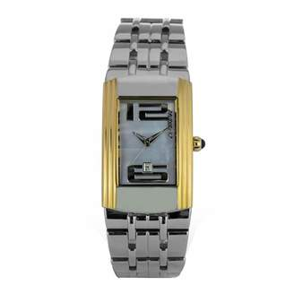 Chronotech Womens Analogue Quartz Watch with Stainless Steel Strap CT7017L-01M