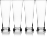 Mikasa Laura Set of 4 Pilsner Glasses