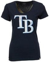 '47 Women's Tampa Bay Rays Satin Scoop T-Shirt