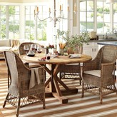 Williams-Sonoma Reclaimed Wood Pine Round Table, Honey