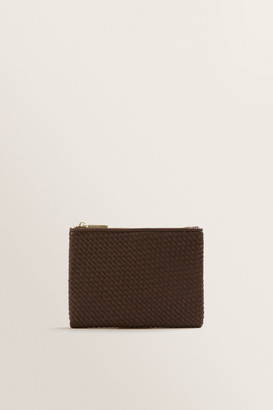 Seed Heritage Mini Weave Pouch