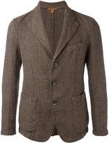 Barena patch pockets blazer - men - Cotton/Linen/Flax/Polyester - 48
