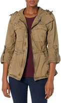 Thumbnail for your product : Levi's Women's Cotton Lightweight Fishtail Hooded Military Jacket