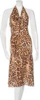 Michael Kors Silk Printed Dress