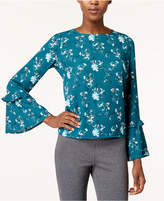 Maison Jules Bell-Sleeve Top, Created for Macy's