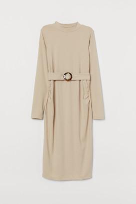 H&M MAMA Ribbed Jersey Dress