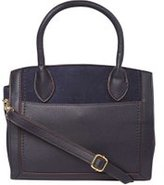 Dorothy Perkins Womens Navy Structured Mini Tote Bag- Blue