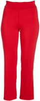 Glam Red Straight-Leg Pants - Plus